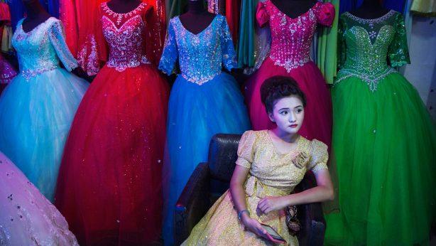 Oeigoers-meisje